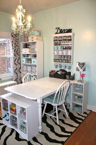 Craft Room Home Studio Setup by Craft Room Setup Table With 2 Chairs For In 2019