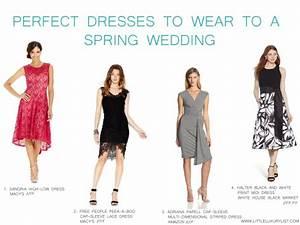 dress to wear to a spring wedding polofreelancecom With perfect dress to wear to a wedding