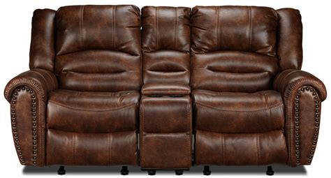 microfiber reclining sofa with console microfiber reclining sofa with console full size of