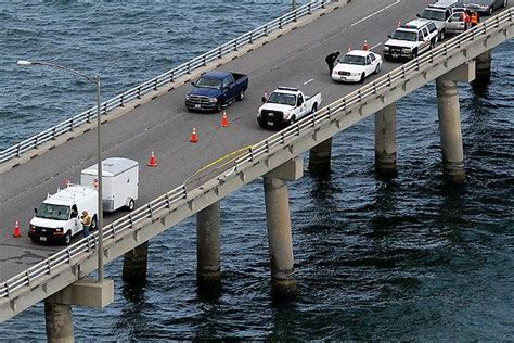Boat Accident Virginia Beach by Vehicle Crashes Into Chesapeake Bay Body Recovered