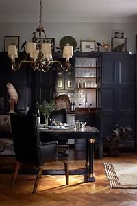 Elegant, Dark, Interior, Design, In, The, 20s, Style