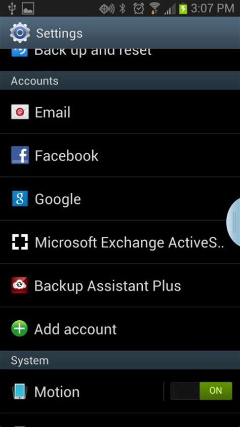 change password on android phone change exchange email password on android version 4 1 2