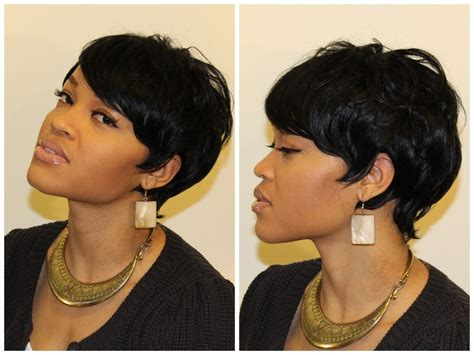 Short 27 Piece Quick Weave Hairstyles