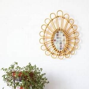 Petit Miroir Rotin : objets et jouets l 39 arbre aux souhaits ~ Melissatoandfro.com Idées de Décoration