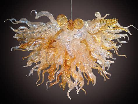 glass sculpture chandelier custom made 111 glass chandelier by ethel a furman