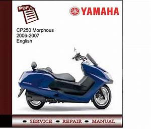 Yamaha Cp250v Morphous 2006-2007 Service Manual