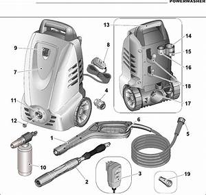 Husky Power Washer 1550 Psi Parts