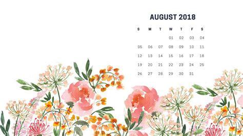 awesome august  calendar wallpaper hd august