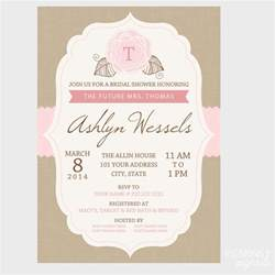 wedding shower bridal shower invitation pigskins pigtails