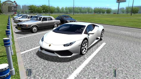 City Car Driving 1.4.1 Lamborghini Huracan Gameplay With
