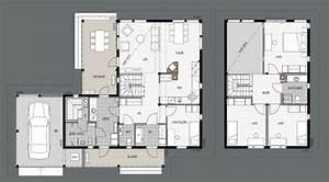 modeles et plans de la maison bois merikallio kontio With modele plan de maison 2 modales et plans de la maison bois merikallio kontio