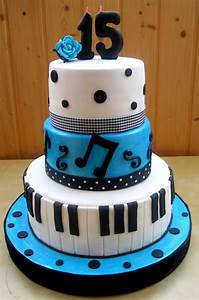 music cake, 15th birthday cake | Party | Pinterest ...