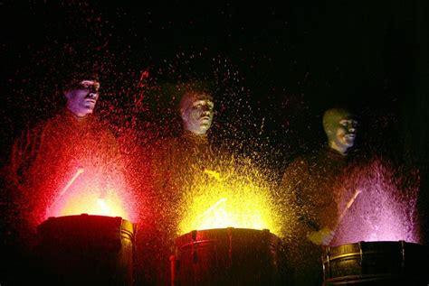 neon drum painting   glow   dark birthday party