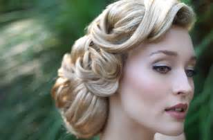 wedding hair salon achieving vintage inspired wedding hairstyles
