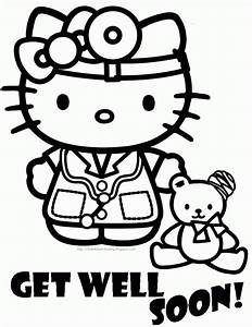 Hello Kitty Cupcake Coloring Pages#439489