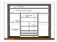 Walk In Closet Minimum Dimensions Small Bedroom Closet