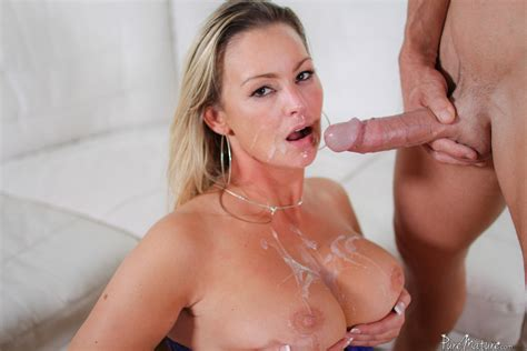 Porn Star Abbey Brooks Bends Over For A Big Cock Of