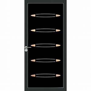 panneau pour porte d39entree en aluminium composite With porte d entrée en composite