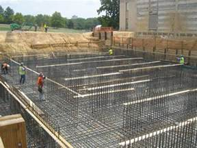 Load Bearing Wall In Basement by Types Of Foundation And Their Uses In Building Construction