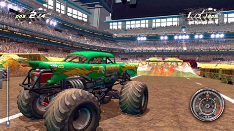 monster jam trucks games monster jam path of destruction screenshots and game art
