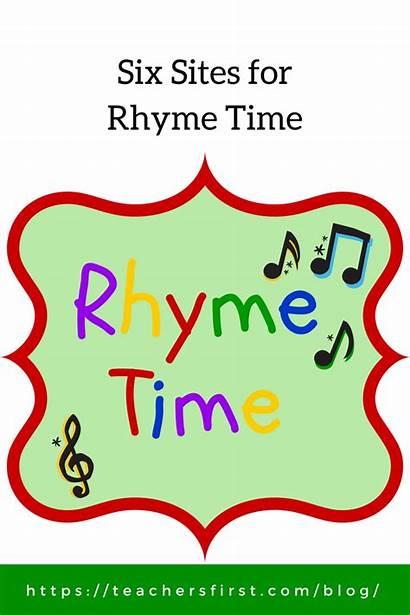 Rhyme Six Teachersfirst Cadence Poetry Become