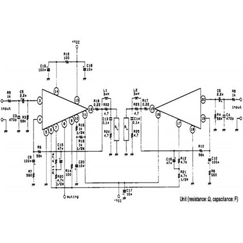 Watt Car Stereo Amplifier Circuit Diagram Using