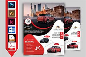 Rent A Car Flyer Template Vol 08