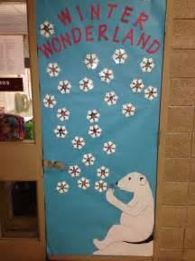 Winter Classroom Door Decorating Ideas by Winter Door Decoration Classroom Displays