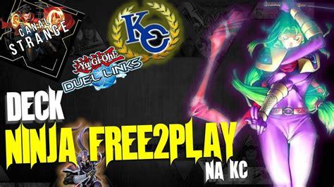 deck ninja free 2 play ninja na kc yu gi oh duel links