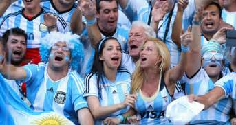 White Argentine People Argentina supporters  Argentinian People White