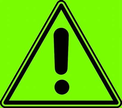 Caution Sign Warning Blinking Animated Exclamation Mark