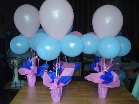diy balloon table centerpieces tipid party simple balloon centerpiece