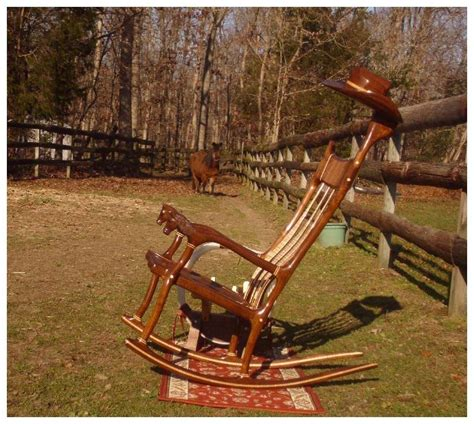 made western style rocking chair by pdl rockers