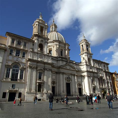 Sant'agnese - Church Of Sant Agnese In Agone Piazza Navona ...