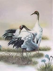 Crane Painting Promotion-Shop for Promotional Crane ...