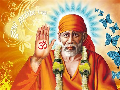 Om Sai Baba Wallpaper Download