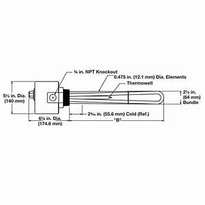 Immersion Heater Watlow Blr77l5s5a