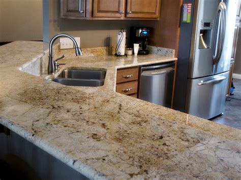 how to add color to a kitchen colonial granite countertops cabinets backsplash 9279