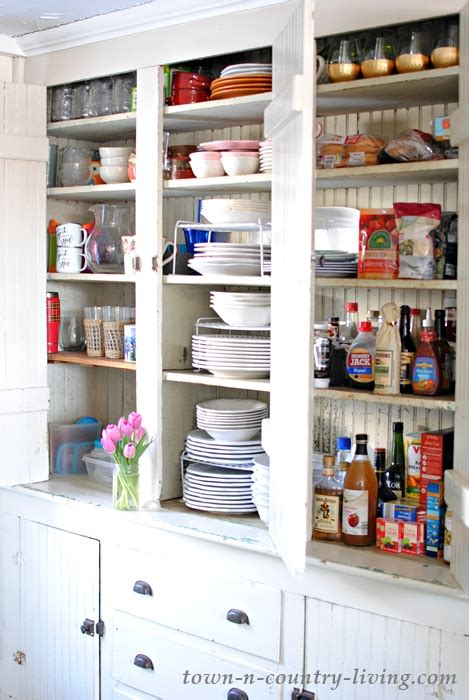 Organizing Kitchen Cabinets In Five Easy Steps  Town