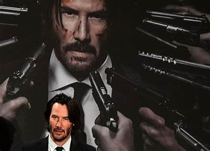 Keanu Wick John Reeves Chapter Photocall Explained