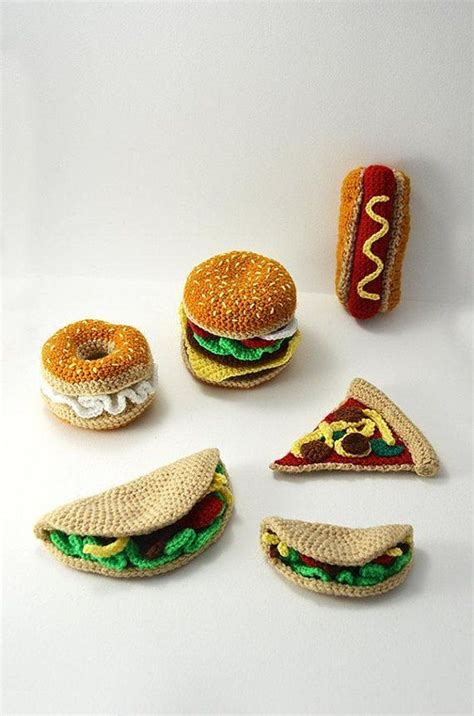 crochet cuisine best 25 crochet food ideas on