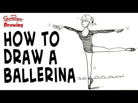 draw  ballerina youtube
