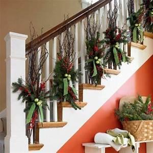 Deko Für Weihnachten : 1001 dekoideen weihnachten das treppenhaus weihnachtlich dekorieren ~ Watch28wear.com Haus und Dekorationen