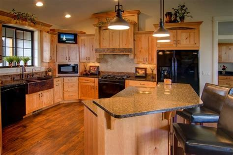 rustic cherry kitchen cabinets rustic cherry traditional kitchen other by rimrock 4964