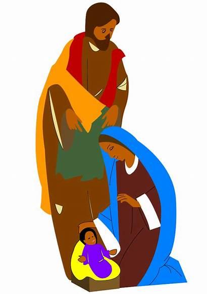 African American Religious Clip Nativity Christian Scene