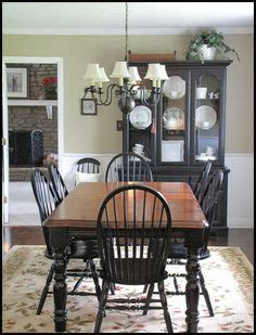 31659 two tone dining table adorable two tone dining room with chair rail light color above