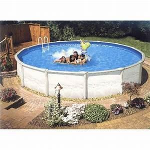 Liner Piscine Hors Sol Ronde : structure acier r sine liner pour piscine hors sol ronde ~ Dailycaller-alerts.com Idées de Décoration