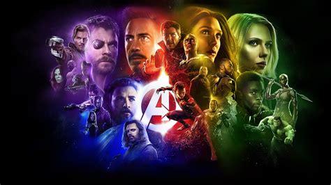 avengers infinity war superheroes poster laptop