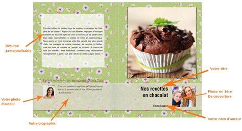 créer un livre de cuisine personnalisé cahier de recette créer propre livre de recettes