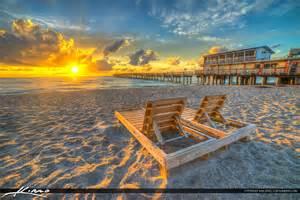 Purple Moon Chair by Lake Worth Beach Sunrise Couples Chair